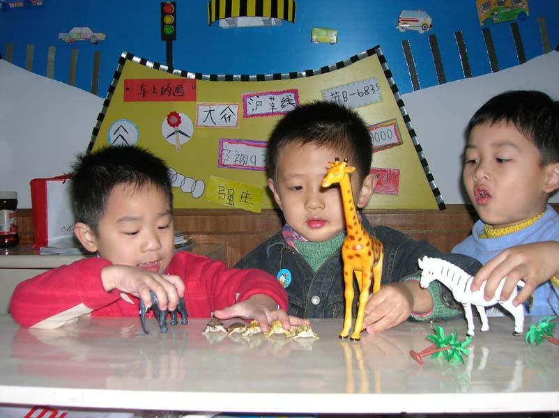 动物剧场的大明星——记田林四幼中班动物主题活动的