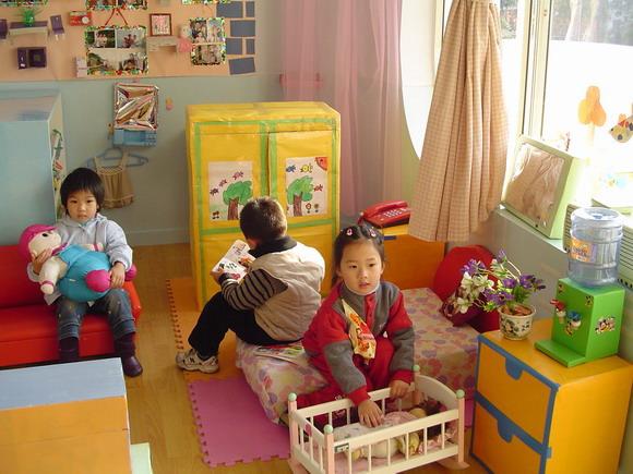 幼儿园娃娃家全家福吊饰