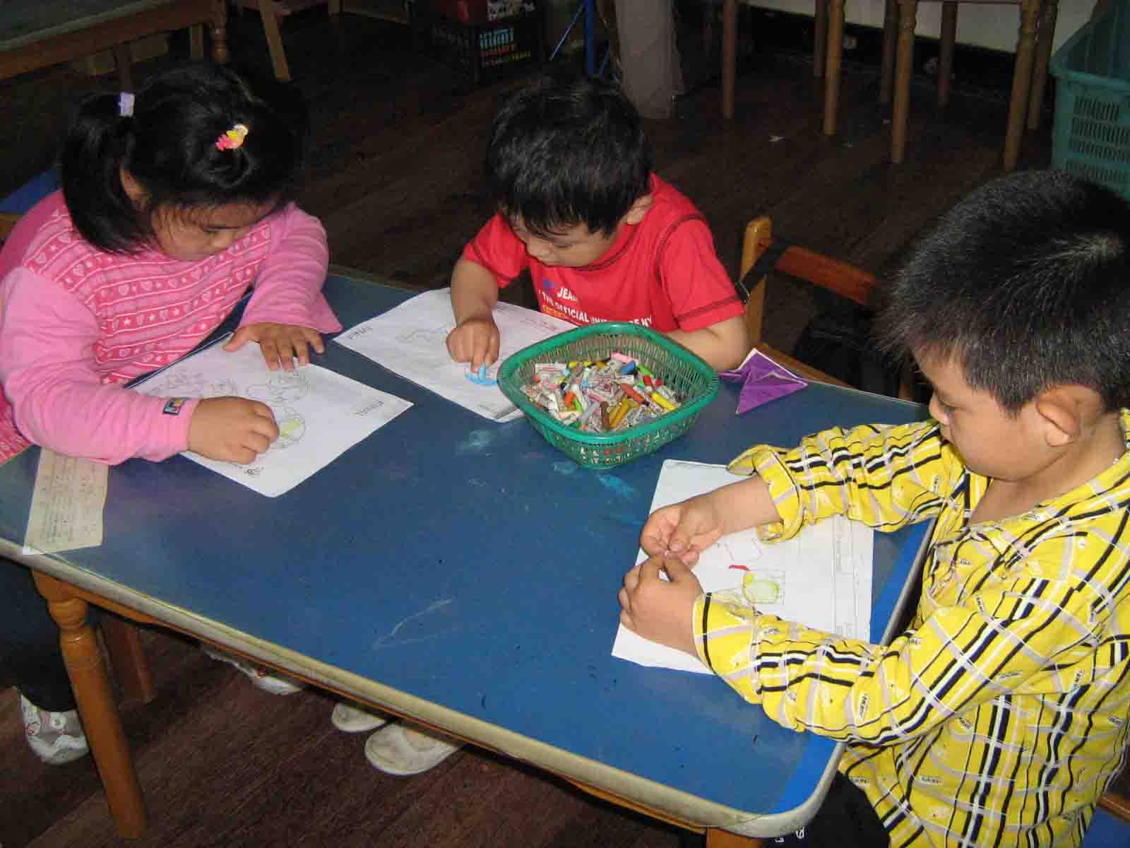 幼儿园中班年级组